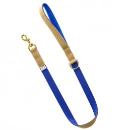luxury blue dog lead and collar doggie apparel