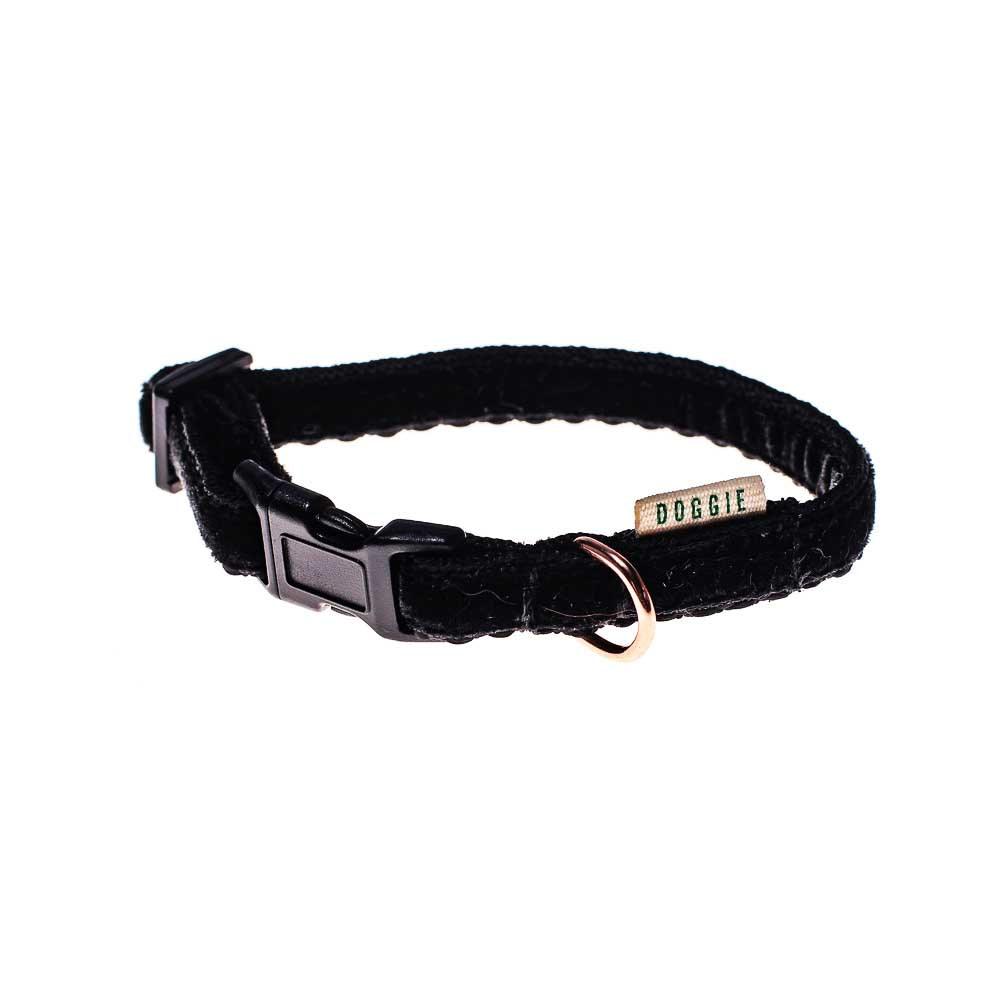 black velvet teeny collar